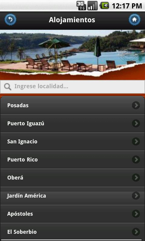 Misiones Tourist Guide- screenshot