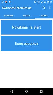 Rozmówki Polsko-Niemieckie - screenshot thumbnail