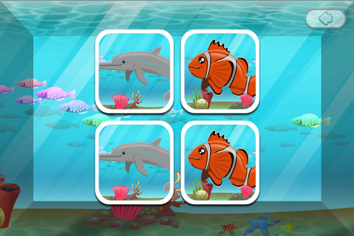 Memory Game Kids: Underwater