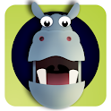 Hoppo Hippo hide and seek logo