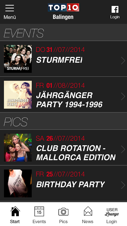 TOP10 - screenshot