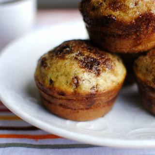Cinnamon & Sugar Swirled Pancake Muffins