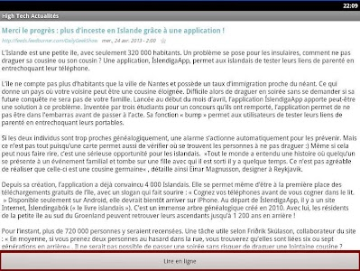 High Tech Actualités screenshot 3