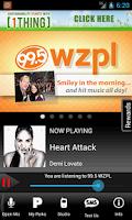 Screenshot of 99.5 WZPL