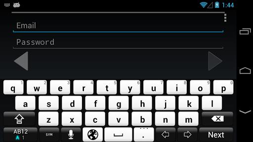 Black&White keyboard image 2.0 Windows u7528 2