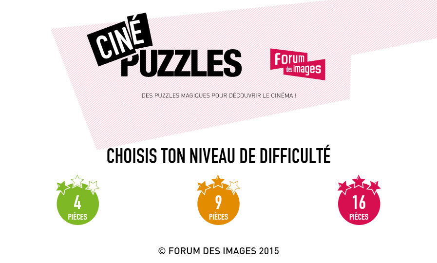 Ciné Puzzles- screenshot