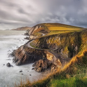 The Slea Head by Grzegorz Kaczmarek - Landscapes Waterscapes ( greg77, cliffs, ireland, dingle )
