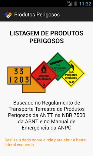 Produtos Perigosos