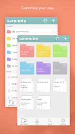 SomNote - Beautiful note app Screenshot 1