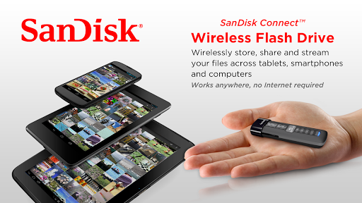 SanDisk Wireless Flash Drive 2.1.3 screenshots 1