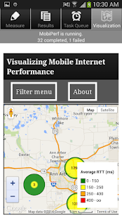 MobiPerf - screenshot thumbnail