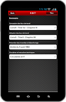 Screenshot of PRV CDT