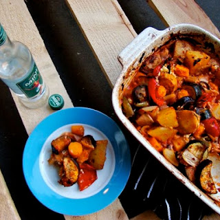 Ratatouille with a Greek twist.
