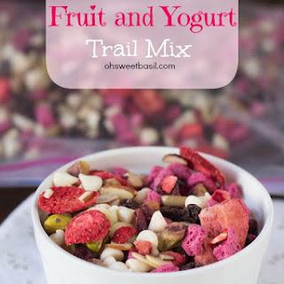 Pistachio Fruit and Yogurt Trail Mix