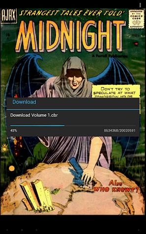 Challenger Comics Viewer Screenshot