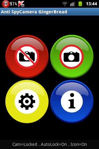 Anti Spy Disable Camera Locker