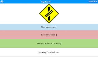 Screenshot of CDL Test Lite