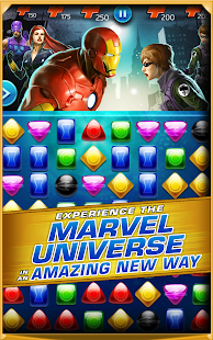 Marvel Puzzle Quest Dark Reign Mod (Unlimited Gold & Crystal) vR39.Ship.145624 APK