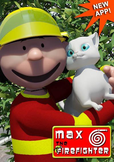 Talking Max the Firefighter - screenshot