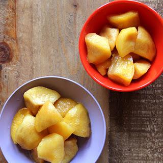 Nectarine Murabba with Cardamom, Lemon, and Rosewater