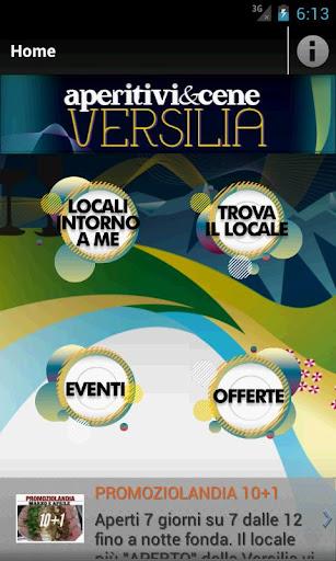 aperitivi cene Versilia