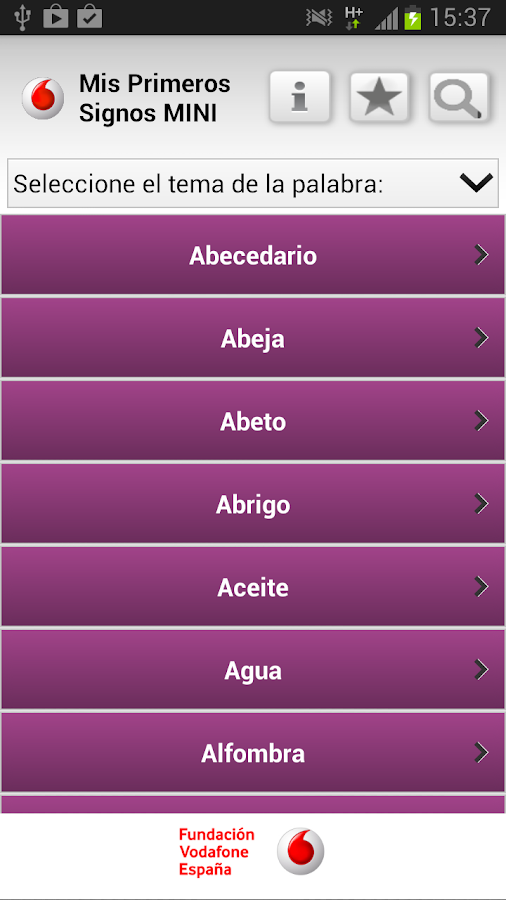 Mis primeros signos MINI- screenshot