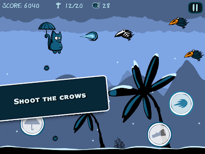Bronko Blue, the kitten copter - screenshot