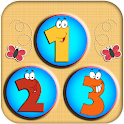 123 Numbers Flashcards 4 Kids logo