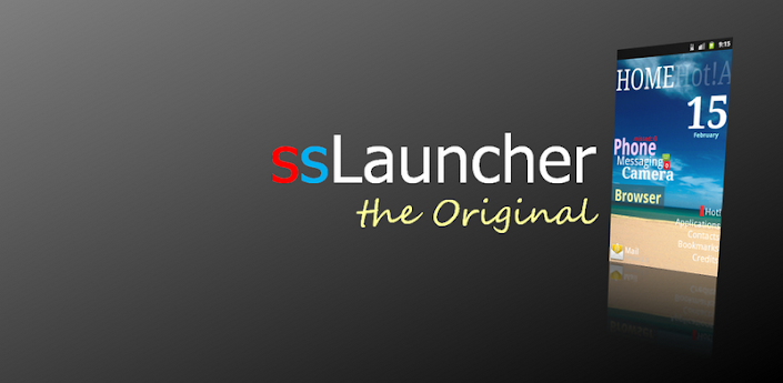ssLauncher the Original v1.11.4 Apk Full App
