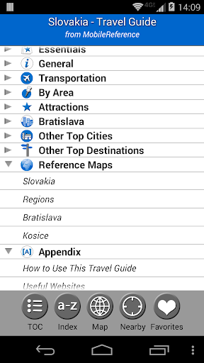Slovakia - Travel Guide Map