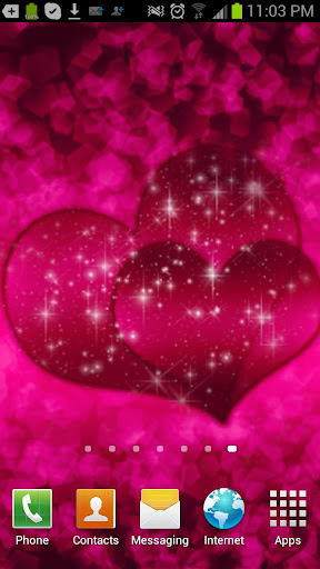 Lovely Pink Hearts