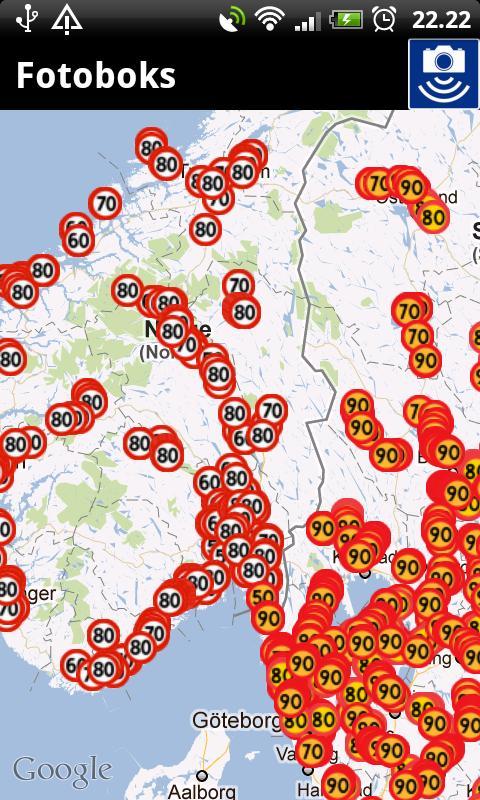 Speed Cameras (Nordic)- screenshot