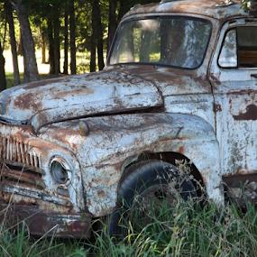 by Wesley Nesbitt - Transportation Automobiles ( rust, old truck, classic )