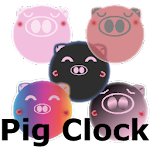 Pig Clock & Weather Forecast kimapp_store.V.2.0 Apk