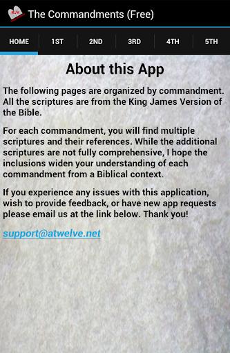 FREE Ten Commandments KJV