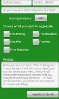Screenshot of Negotiate with your hotel