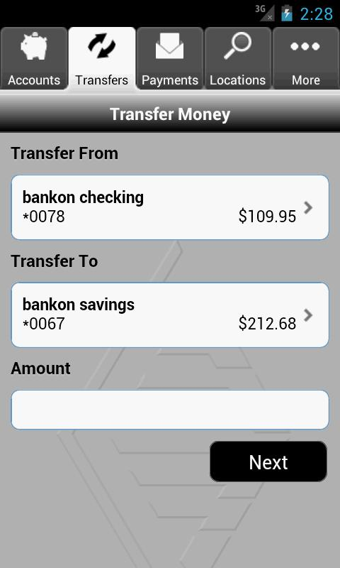 Bank of Colorado- screenshot