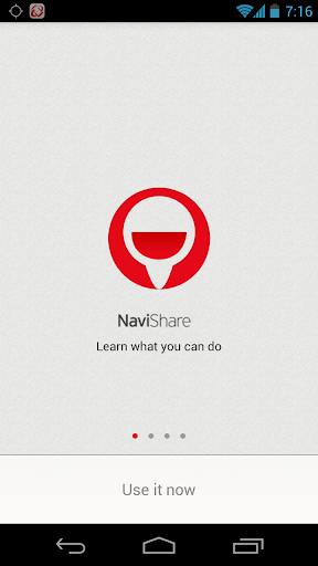 NaviShare Beta