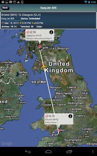 Glasgow Airport+Flight Tracker