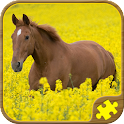 Horse Puzzles Free icon