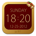 Christmas Clock Widget icon