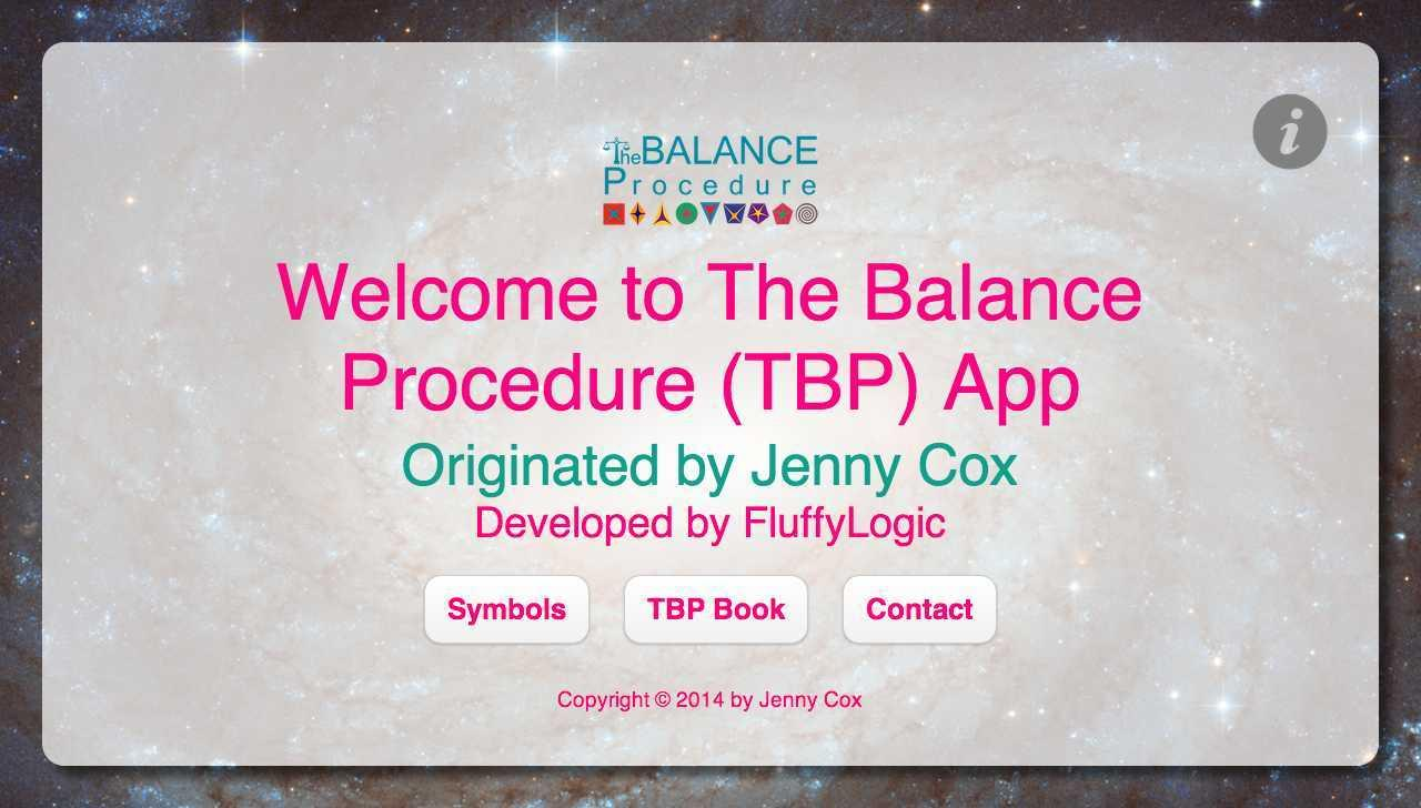 The Balance Procedure (TPB)- screenshot
