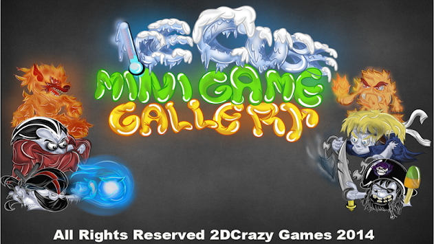 Ice Cube Mini Game GalleryDemo apk screenshot