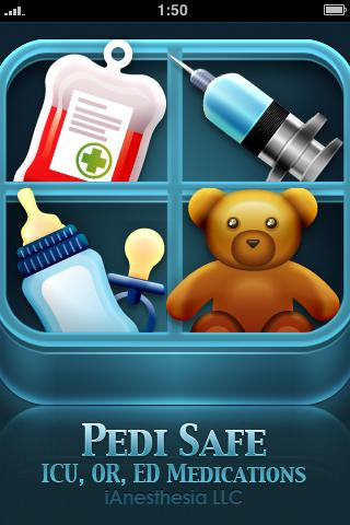 Pedi Safe Medications - screenshot