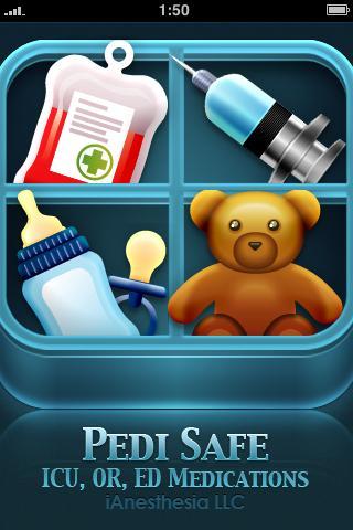 Pedi Safe Medications- screenshot