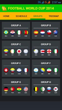 Football World Cup Live Score 1.6 screenshot 58195