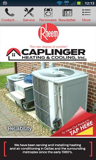 Caplinger Heating Air Inc