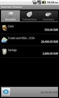 Screenshot of Swarmer Finance