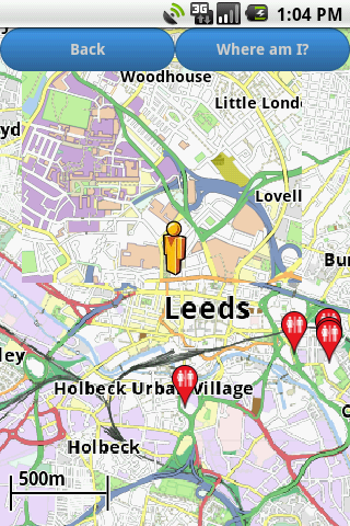 Leeds Amenities Map free