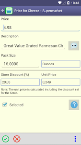 Perfect Shopping List screenshot 5